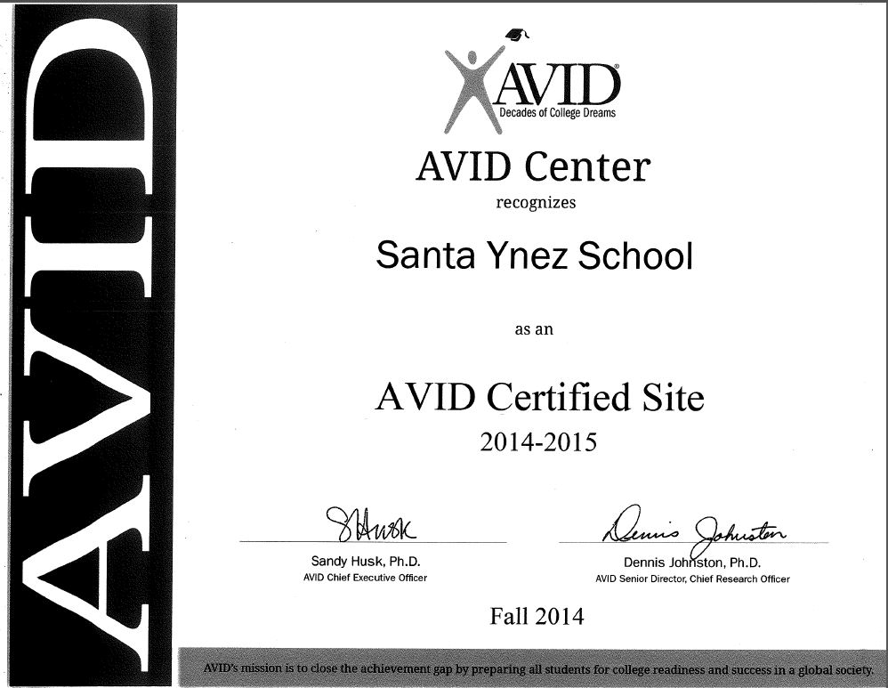 Avid College School District