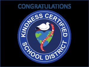 Kindness Certified School District Award Seal