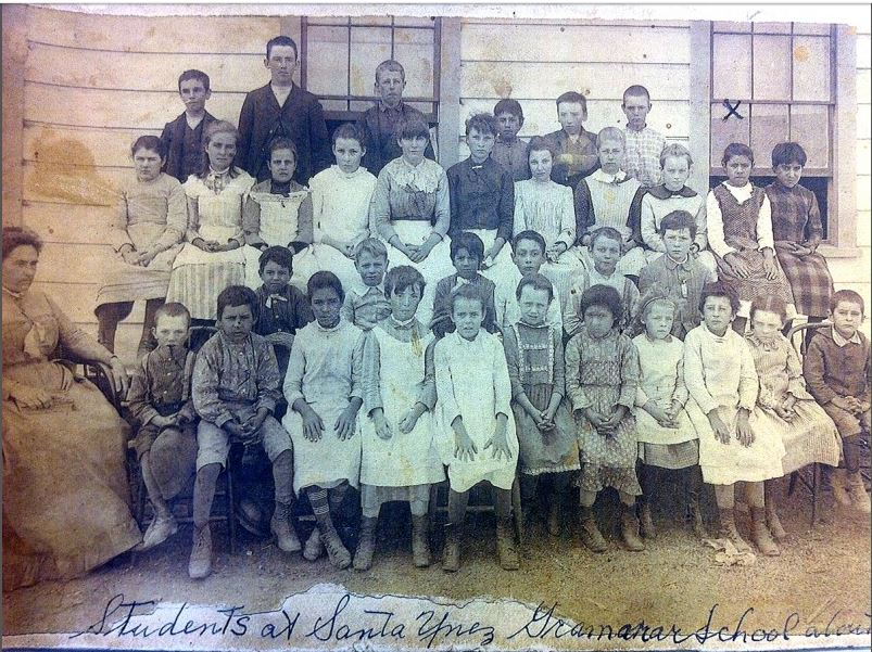 Students at Santa Ynez Grammar School